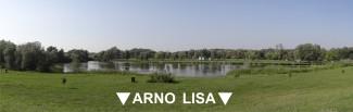 Arno & Lisa breedbeeld zicht meer