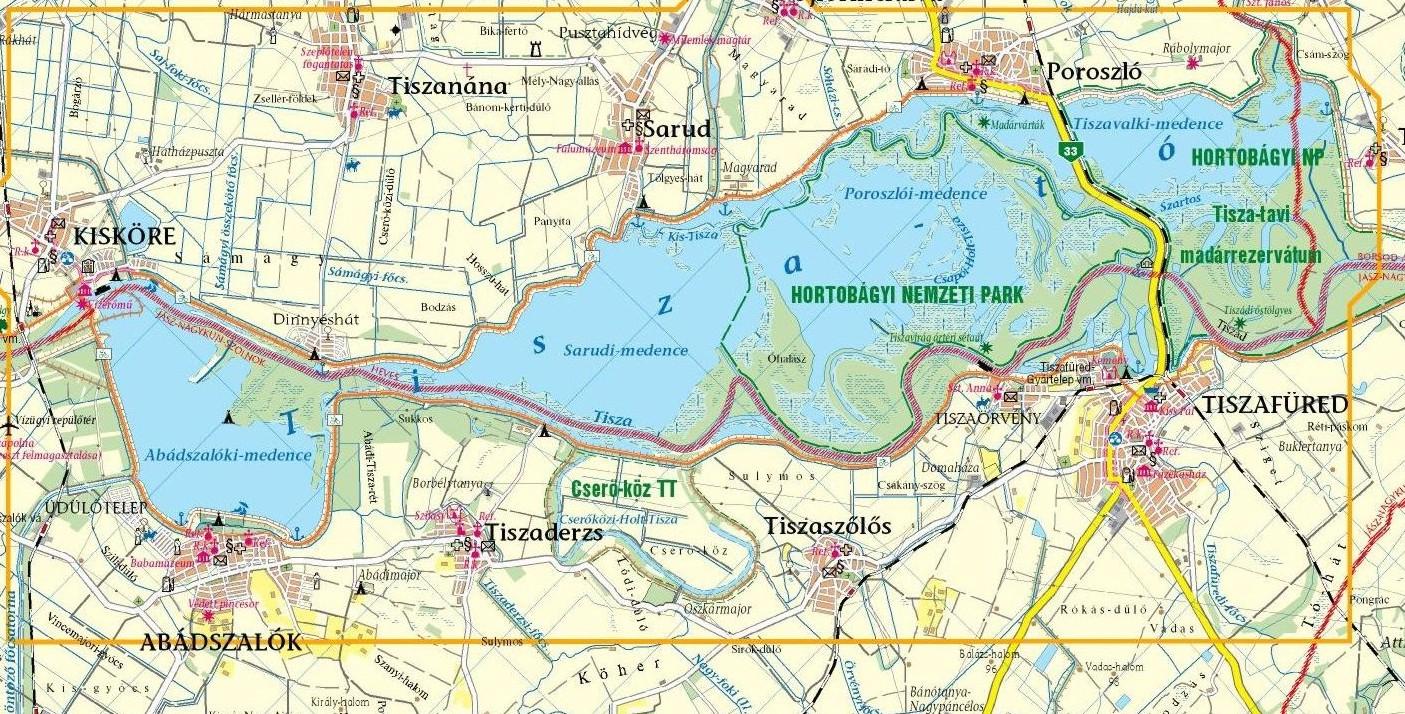 Op En Rond Het Meer Lake Tisza Holiday Homes