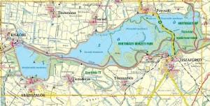 kaart gebied