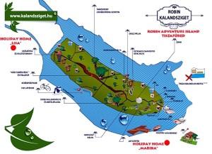 robin eiland kaart A